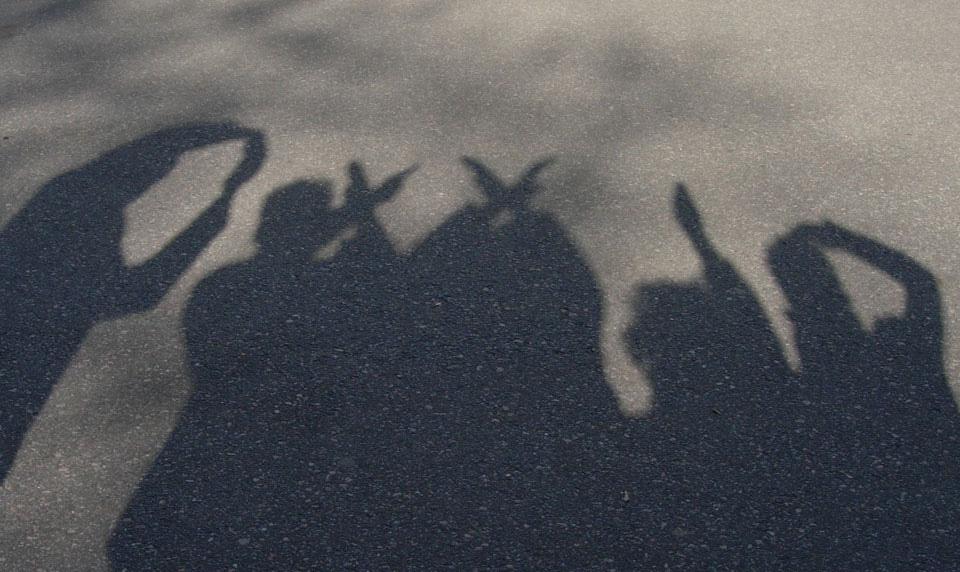 Das OXXID Team als Schattenlogo
