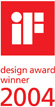 iF design award winner 2004