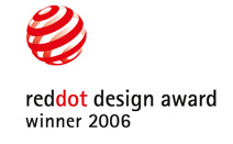 reddot design award - winner 2006