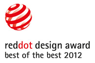 reddot design award - best of the best 2012
