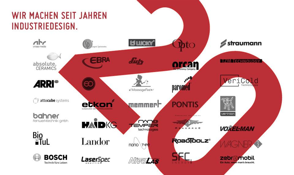 Wir machen seit 20 Jahren Industriedesign